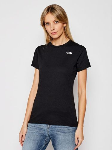 The North Face T-Shirt Simple Dome NF0A4T1AJK31 Czarny Regular Fit 99.00PLN