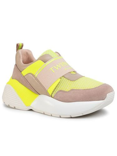 TwinSet Sneakersy Running 201TCP152 Beżowy 529.00PLN