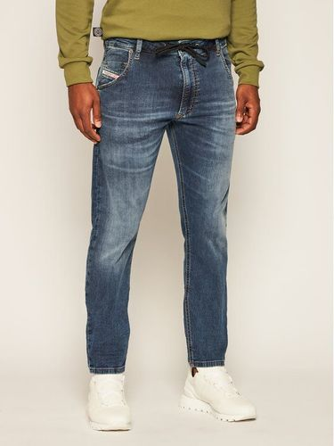 Diesel Jeansy Tapered Fit Krooley A00879 069NL Granatowy Tapered Fit 659.00PLN