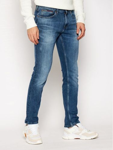 Tommy Jeans Jeansy Slim Fit Dynamic Chester Mid DM0DM09322 Granatowy Slim Fit 379.00PLN