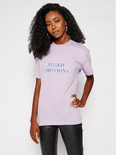 Local Heroes T-Shirt Mixed Emotions AW2021T0019 Fioletowy Regular Fit 79.00PLN