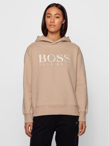 Boss Bluza C_Edelight_Active 50457385 Beżowy Relaxed Fit 629.00PLN