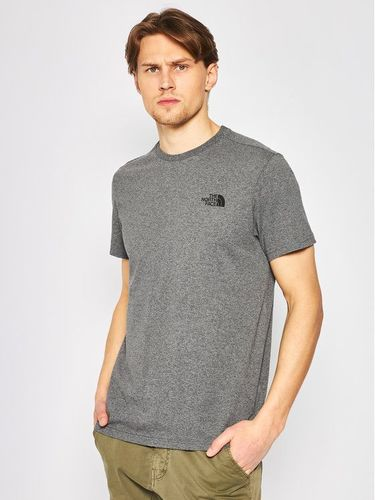 The North Face T-Shirt Simple Dome Tee NF0A2TX5JBV1 Szary Regular Fit 79.00PLN